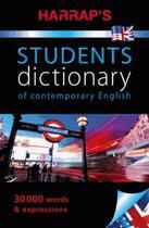 Couverture du livre « Harrap's chambers student dictionary of contemporary english » de Collectif aux éditions Harrap's