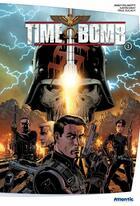 Couverture du livre « Time bomb t.1 » de Justin Gray et Paul Gulacy et Paul Mounis et Jimmy Palmiotti aux éditions Atlantic