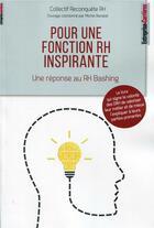 Couverture du livre « Pour une fonction RH inspirante » de Michel Barabel aux éditions Entreprise Et Carrieres