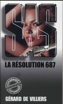 Couverture du livre « SAS T.121 ; la résolution 687 » de Gerard De Villiers aux éditions Gerard De Villiers
