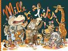 Couverture du livre « Mille et une bêtes » de Julie M. aux éditions Scutella