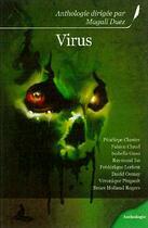Couverture du livre « Virus » de Alexandre Dainche aux éditions Griffe D'encre