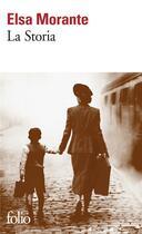 Couverture du livre « La storia » de Elsa Morante aux éditions Gallimard