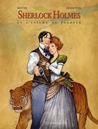 Couverture du livre « Sherlock Holmes et l'énigme du Jodhpur » de Roger Seiter et Giuseppe Manunta aux éditions Le Verger