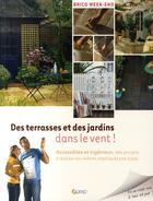 Couverture du livre « Des terrasses et des jardins dans le vent » de Marie Vendittelli aux éditions Saep