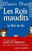 Couverture du livre « Les rois maudits t.1 ; le roi de fer » de Maurice Druon aux éditions Lgf