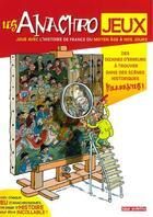 Couverture du livre « Les anachrojeux » de Jacques Lerouge et Lucie Hoornaert aux éditions Faton Jeunesse