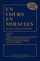 Couverture du livre « Un cours en miracles » de William Thetford et Helen Schucman aux éditions Octave