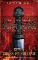 Couverture du livre « Scramasax » de Kevin Crossley-Holland aux éditions Quercus Publishing Digital