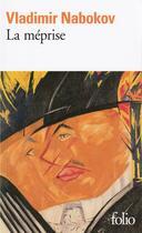 Couverture du livre « La méprise » de Vladimir Nabokov aux éditions Gallimard