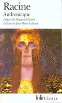 Couverture du livre « Andromaque » de Jean Racine aux éditions Gallimard