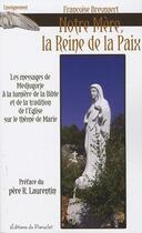 Couverture du livre « Notre mère, la reine de la paix » de Francoise Breynaert aux éditions Du Paraclet