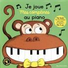 Couverture du livre « Je joue mes comptines au piano » de Magali Clavelet aux éditions Gallimard-jeunesse