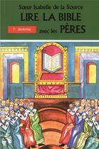 Couverture du livre « Soeur isabelle de la source; jérémie t.7 » de De La Source I aux éditions Mediaspaul