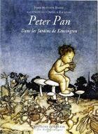 Couverture du livre « Peter Pan dans les jardins de Kensington » de James Matthew Barrie et Arthur Rackham aux éditions Corentin