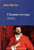 Couverture du livre « L'homme en rouge » de Julian Barnes aux éditions Mercure De France
