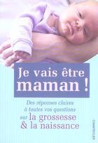 Couverture du livre « Je Vais Etre Maman! » de Paul Smits aux éditions Chantecler