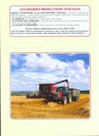 Couverture du livre « Les grandes productions végétales » de Dominique Soltner aux éditions Dominique Soltner