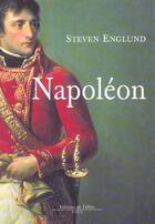 Couverture du livre « Napoleon » de Englund-S aux éditions Fallois