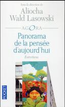 Couverture du livre « Panorama de la pensée d'aujourd'hui » de Aliocha Wald Lasowski aux éditions Pocket