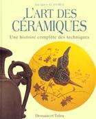 Couverture du livre « L'Art De La Ceramique » de Jacques Peiffer aux éditions Dessain Et Tolra