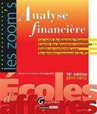 Couverture du livre « Analyse financière 2012-2013 (16e édition) » de Beatrice Grandguillot aux éditions Gualino