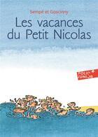Couverture du livre « Les vacances du petit Nicolas » de Jean-Jacques Sempe et Rene Goscinny aux éditions Gallimard-jeunesse