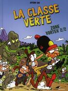 Couverture du livre « La classe verte t.2 ; zone vortex » de Jerome Eho aux éditions Toucan