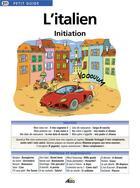 Couverture du livre « L'italien initation » de Collectif aux éditions Aedis