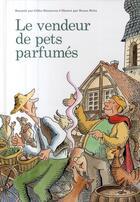 Couverture du livre « Le vendeur de pets parfumés » de Gilles Bizouerne aux éditions Thierry Magnier
