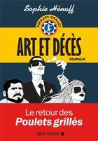 Couverture du livre « Art et décès » de Sophie Henaff aux éditions Albin Michel