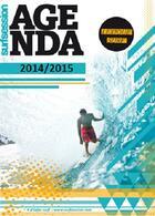 Couverture du livre « Agenda surf session 2014 / 2015, cahier de textes » de Laurent Masurel aux éditions Surf Session