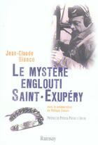 Couverture du livre « Le mystere englouti saint exupery » de Bianco. Jean-Cl aux éditions Ramsay