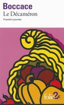 Couverture du livre « Le décaméron, première journée » de Boccace aux éditions Gallimard