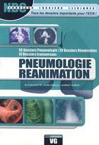 Couverture du livre « Pneumologie réanimation » de Benjamin Planquette aux éditions Vernazobres Grego