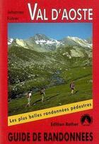 Couverture du livre « Val d'Aoste » de Johannes Fuhrer aux éditions Rother