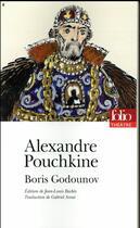 Couverture du livre « Boris Godounov » de Alexandre Pouchkine aux éditions Gallimard