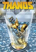 Couverture du livre « Thanos ; le gouffre de l'infini » de Jim Starlin aux éditions Panini