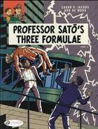 Couverture du livre « Blake et Mortimer T.23 ; professor Sato's three formulae t.2 » de Bob De Moor et Edgar Pierre Jacobs aux éditions Cinebook