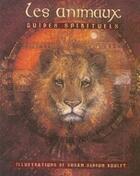 Couverture du livre « Les animaux, guides spirituels » de Susan Seddon-Boulet aux éditions Roseau
