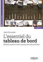 Couverture du livre « L'essentiel du tableau de bord (5e édition) » de Alain Fernandez aux éditions Eyrolles