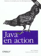 Couverture du livre « Java En Action » de Darwin I F aux éditions O Reilly France