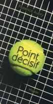 Couverture du livre « Point décisif » de Florence Aubry aux éditions Mijade