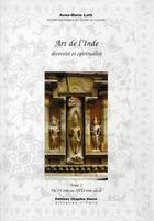 Couverture du livre « Art de l'Inde t.2 » de Loth. Anne-Mari aux éditions Chapitre Douze