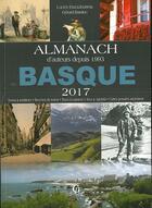 Couverture du livre « Almanach du Basque (2017) » de Gerard Bardon et Lucien Etxezaharreta aux éditions Communication Presse Edition