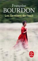 Couverture du livre « Les sentiers de l'exil » de Francoise Bourdon aux éditions Lgf