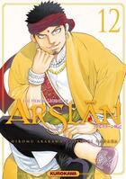 Couverture du livre « The heroic legend of Arslan T.12 » de Hiromu Arakawa et Yoshiki Tanaka aux éditions Kurokawa