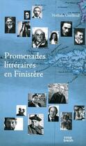 Couverture du livre « Promenades littéraires en Finistère » de Nathalie Couilloud aux éditions Coop Breizh