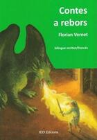 Couverture du livre « Contes a rebors » de Florian Vernet aux éditions Ieo Edicions