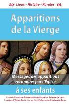 Couverture du livre « Les apparitions de la Vierge à ses enfants » de Michel Gurnaud aux éditions Saint Jude